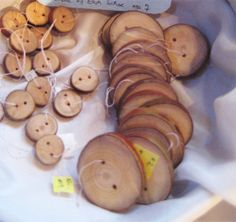 Waldorf Crafts & Toys » Blog Archive » Handmade Madrone Wood Buttons