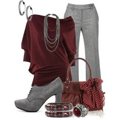 Like a fine wine by tchantx on Polyvore featuring polyvore, fashion, style, Max Studio, Gardeur, Me Too, Oasis and Blu Bijoux