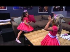 Sophia Grace  Rosie Play the New 'Heads Up!' Behind The Ellen Show