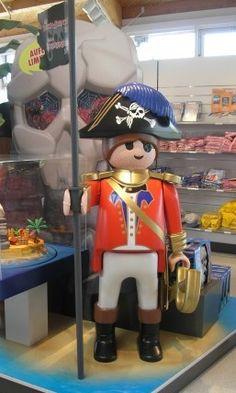 Playmobil géant - Homme pirate - 2007 - Boîte 4293