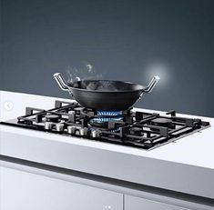 Gas cook top with step Flame Technology for precise flame control in nine steps Kitchen Appliances, Technology, Cooking, Top, Diy Kitchen Appliances, Tech, Kitchen, Home Appliances, Tecnologia