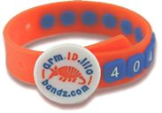 Child security ID bracelet - armIDillo Bandz - The Highly Visible Children's Safety Bracelet - faq