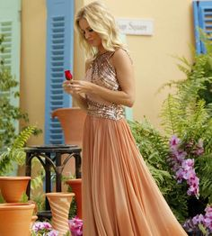 Emily Maynard. Loved the dress!