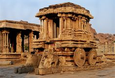 Group of Monuments at Hampi, Karnataka, Bellary District, India. Inscription in 1986. Criteria: (i)(iii)(iv)