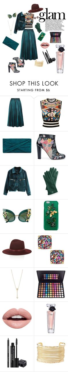 """""""Glam"""" by nina-atapovich ❤ liked on Polyvore featuring Givenchy, Naeem Khan, Reiss, Camilla Elphick, Mark & Graham, Dolce&Gabbana, Janessa Leone, Kate Spade, EF Collection and Nevermind"""