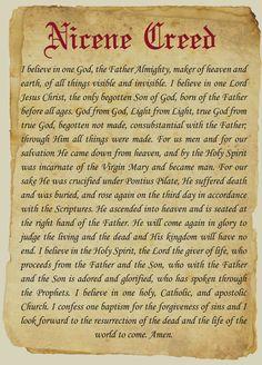 God from God, light from light, true God from true God, begotten not made :: South Texas Catholic (Corpus Christi, TX)