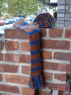 Ravenclaw scarf, book version. Ravenclaw Scarf, Common Room, Scarf Patterns, Harry Potter Fandom, Glam Rock, Yarn Needle, Nerdy, Fun Stuff, Needlework