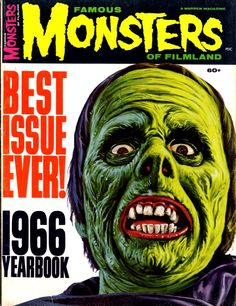 Image detail for -... enjoy these famous monsters of filmland covers from my collection