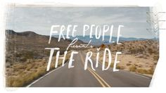 Free People Presents The Ride ft. Erin Wasson on Vimeo