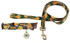 Hunter Green Bay Packers Pet Combo Set, Collar/Lead/ID Tag, X-Small >>> Want additional info? Click on the image. (This is an affiliate link and I receive a commission for the sales)