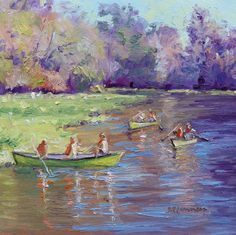 """Up the Wekiva River"" 6x6 sold!"