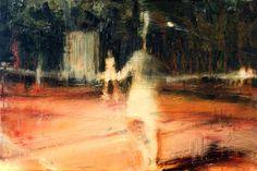 "Saatchi arte artista Anthony Oliver;  Pintura #art, ""Halcyon Days"""