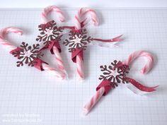 Weihnachts Dekoration Tisch Goodie Swap Give Away Stampin Up 001