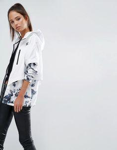 Image 1 ofNike Space Print Packable Jacket