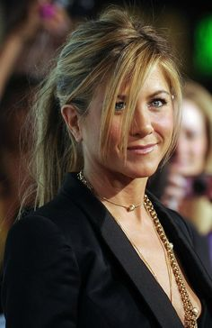 Have You Ever Noticed This Detail About Jennifer Aniston's Ponytails?
