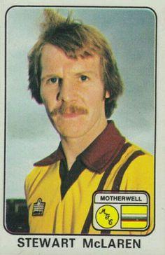 Stewart McLaren of Motherwell in 1970s, Football, Baseball Cards, Sports, Soccer, Hs Sports, Futbol, American Football, Sport