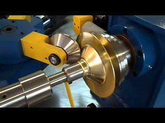 Learn how a lathe is used to form a piece of sheet metal into a bowl. The piece of metal and a buck (the bowl form) are secured on a lathe. As the lathe spin. Forging Tools, Lathe Tools, Wood Lathe, Metal Working Tools, Metal Tools, Spinning, Lathe Accessories, Metal Shaping, Metal Workshop