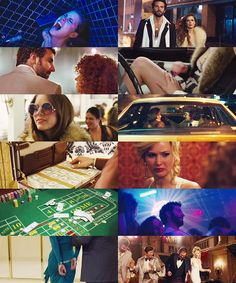 American Hustle just had this atmosphere about it. My aesthetic was captured by the 70s rich bitch outfits, big earrings, big hair, big sunglasses, tight/revealing dresses, sequins, discotheques, and the general atmosphere of the film.