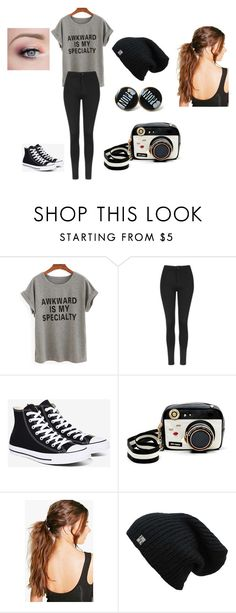 """leggings"" by bring-me-the-sirenz on Polyvore featuring Topshop, Converse, Betsey Johnson and Boohoo"