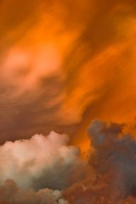 Golden Yellow Clouds