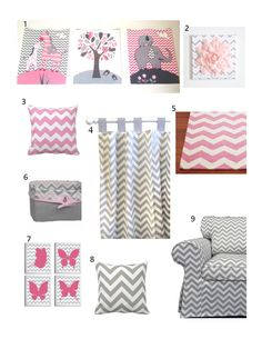 nursery Chevron....for my friends that NEED babies!! :)