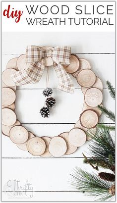 Solutions To Diy Wood Projects To Sell Easy Crafts Fun 33 Wood Projects That Sell, Small Woodworking Projects, Diy Wood Projects, Diy Woodworking, Easy Crafts, Easy Diy, Woodworking Equipment, Wreath Tutorial, Wood Slices