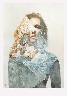 Watercolor Paintings by Oriol Angrill Jordà