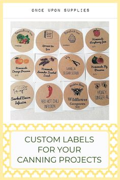 40 Pcs Homemade Jam and Jelly Labels Homemade Blackberry Jam Canning Labels by Once Upon Supplies 2 Size for Regular Mason Jars Round Stickers