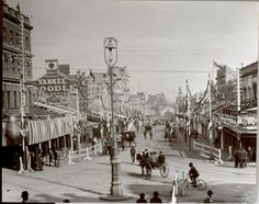Mounted Photograph - Bourke Street, 1901 (Photographs)