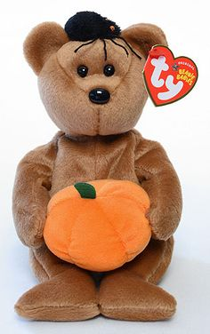 Hocus, Ty Beanie Baby bear reference information and photograph. Rare Beanie Babies, Beanie Baby Bears, Ty Beanie Boos, Ty Teddy Bear, Ty Bears, Ty Plush, Ty Babies, Baby Stuffed Animals, Baby Friends