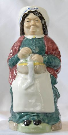 Wood & Sons Charles Dickens Toby Jug PEGGOTTY