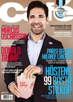 Magazine Cover: Café (November 2016) - Marcus Oscarsson