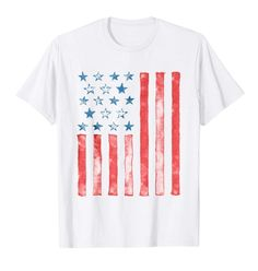 75f47687b7 Unique American Flag Shirt Creative USA Patriotic 4th of July Tee is a  great way to