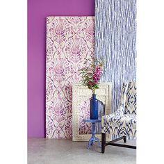 "Savor 33' x 20.5"" Argos Damask Panel Wallpaper   Wayfair"