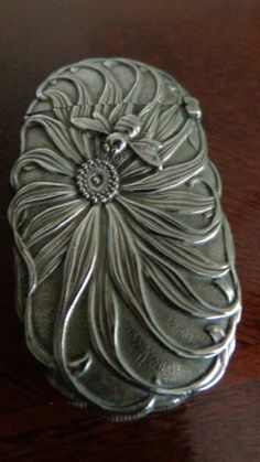 Vintage Match Safe Vesta Case | eBay