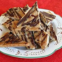 Chocolate Chip Cookie Brittle by Recipe Girl