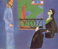 The Conversation  177 x 217 cm. Hermitage, Saint Petersburg 1911