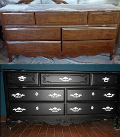 Before and After- french provincial, shabby chic, cottage, Anew Nature