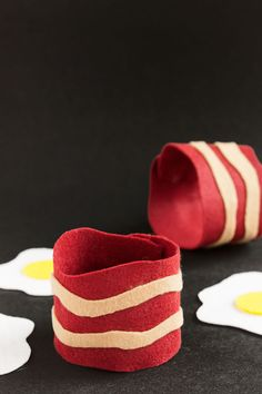 These quick and easy bacon koozies are sure to bring a smile to anyone's face!