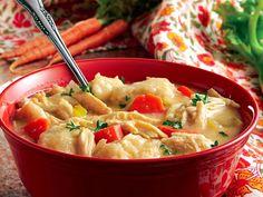 Crock Pot Chicken and Dumplings - Crockin' Girls