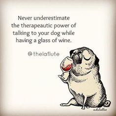 Vines of funny pets. Pugs are fantastic. Vines of funny dogs. Pugs are amazing. Pugs, Pug Love, I Love Dogs, Wine Quotes, Funny Quotes, Funny Memes, Dog Quotes Love, In Vino Veritas, Dog Mom