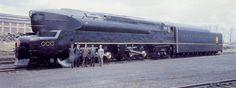 My favorite locomotive, the PRR T-1