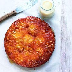 Oh yes it IS gluten free! Caramelized Lemon Cake