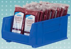 Akro-Mils Super-Size AkroBins keep your larger medical supplies organized and visible. #medical #5S #Lean #hospital