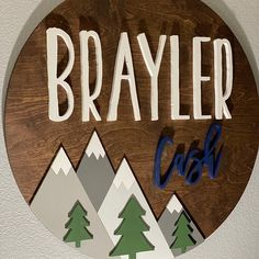 Custom Name Sign Round Sign Baby Name Sign Nursery Room Top Baby Boy Names, Cute Baby Names, Unique Baby Names, Kid Names, Nursery Name, Nursery Room Decor, Nursery Signs, Baby Needs, Baby Love
