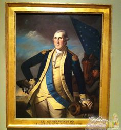 Crystal Bridges Museum of American Art #Arkansas #travel. George Washington oil on canvas by Charles Willson Peale