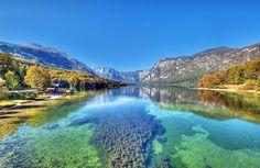Beautiful Bohinj Lake in Slovenia!