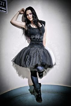 "imissev: ""New photo of Amy Lee by Ash Newell: backstage, Nashville (8/2011, one of the first concerts in this outfit) """