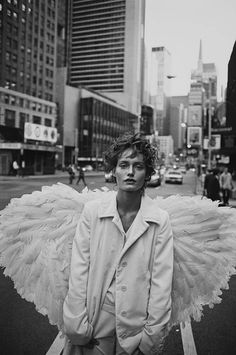 Amber Valletta by Peter Lindbergh