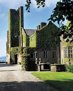 Belle Isle Castle, County Fermanagh, Northern Ireland.